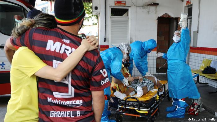 Brasilien COVID-19 in Manaus (Reuters/B. Kelly)