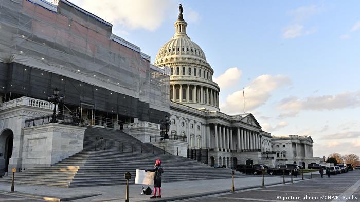 USA Washington Kapitol-Gebäude (picture-alliance/CNP/R. Sachs)