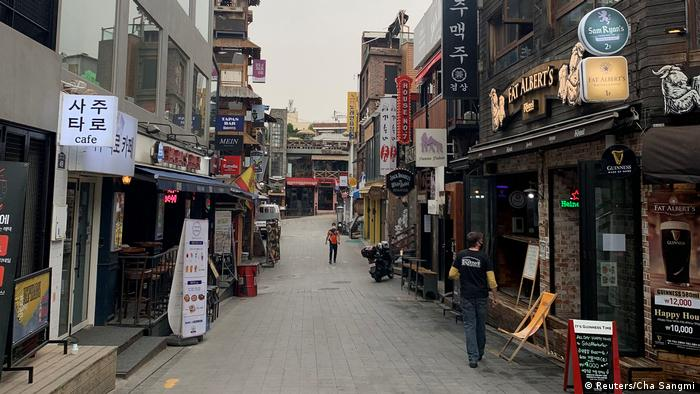 A large outbreak has been traced back to the nigthclubs of Korea's foreign-friendly Itaewon district