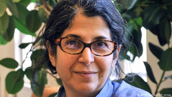 This file handout picture taken in 2012 in an undisclosed location and released on July 16, 2019, by Sciences Po university shows Franco-Iranian academic Fariba Adelkhah