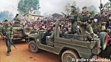 Ruanda Symbolbild Völkermord | Französische Soldaten
