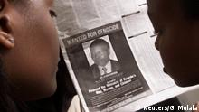 Ruanda Völkermord Anzeige Kabuga wanted