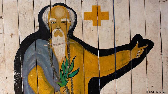 Grafite em parede na Costa do Marfim