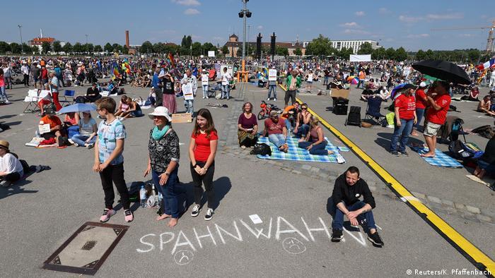Deutschland | Corona-Proteste