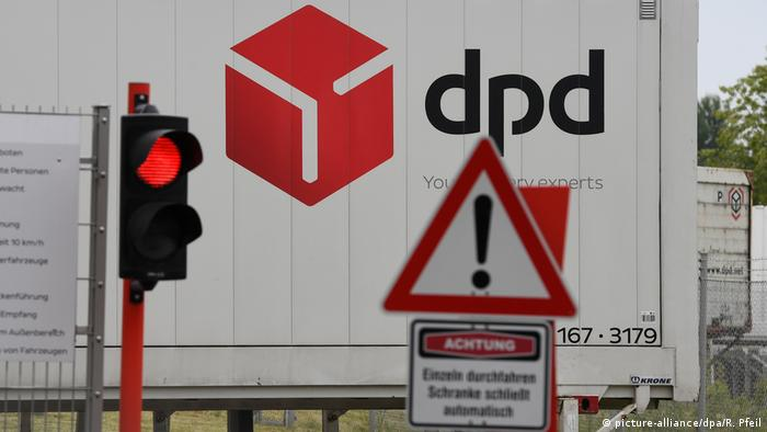 The DPD parcel center in Hückelhoven (picture-alliance/dpa/R. Pfeil)