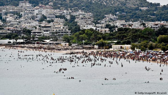 Griechenland   Wiedereröffnung der Strände