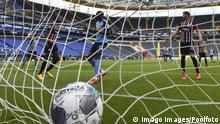 Sport Fussball 1.Bundesliga Eintracht Frankfurt - Borussia Moenchengladbach