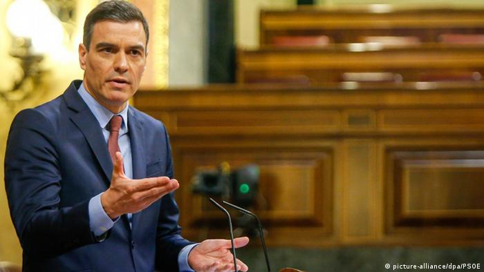 Pedro Sanchez Ministerpräsident von Spanien (picture-alliance/dpa/PSOE)