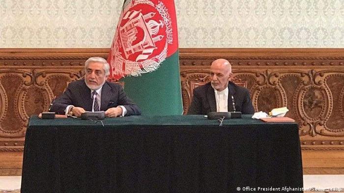 Afghanistan Ashraf Ghani und Abdullah Abdullah