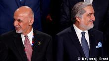 Afghanistan Ashraf Ghani und Abdullah Abdullah ARCHIV