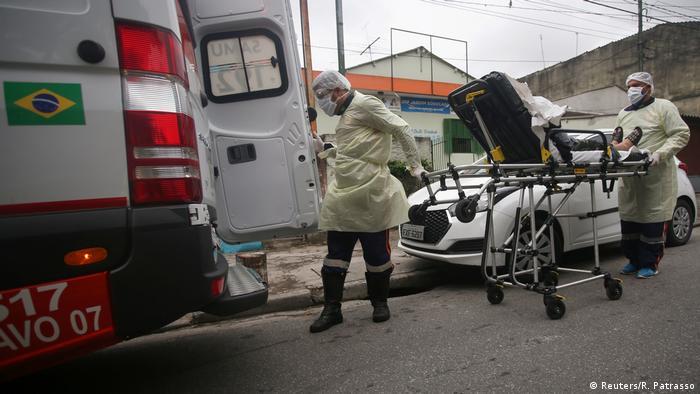 Brasilien | Coronavirus (Reuters/R. Patrasso)