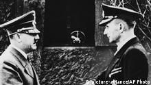 Deutschland Adolf Hitler und Karl Dönitz