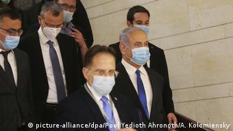 Από την ορκωμοσία της νέας ισραηλινής κυβέρνησης Νετανιάχου-Γκαντς (17.5.20)