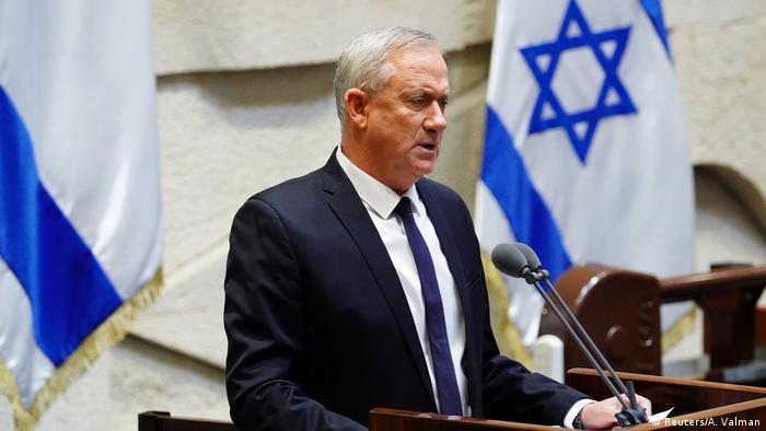 بنی گانتز، وزیر دفاع اسرائیل