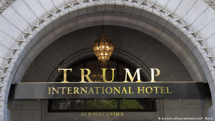 Trump Hotel   Washington (picture-alliance/newscom/P. Benic)