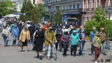 Weißrussland Proteste gegen Akku-Fabrik in Brest