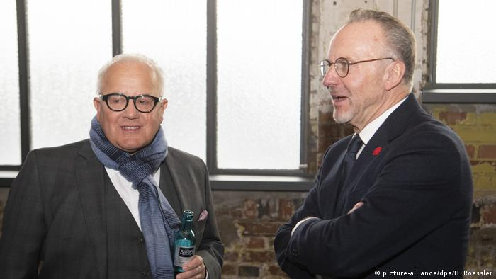 Fritz Keller and Karl-Heinz Rummenigge have both discussed salary caps recently