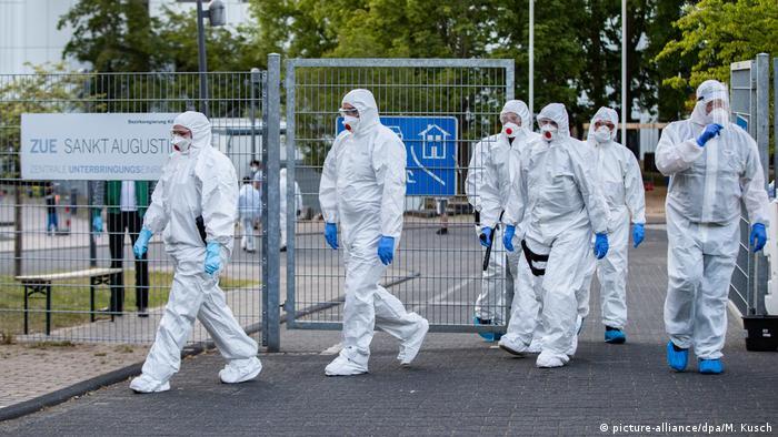 En mai dernier, 70 personnes ont été testées positives dans un centre d'accueil de Cologne
