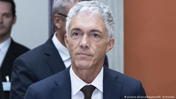 Schweiz Bundesanwalt Michael Lauber (picture-alliance/Keystone/P. Schneider)