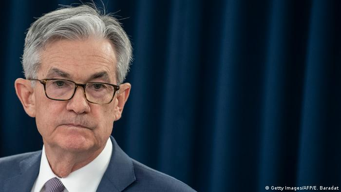 Jerome Powell FED Chef US Notenbank (Getty Images/AFP/E. Baradat)