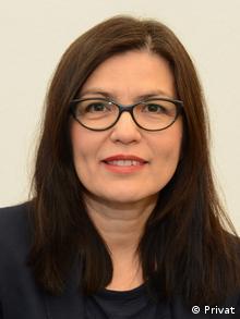 Sevghin Mayr, consultantă în cadrul unui proiect DGB