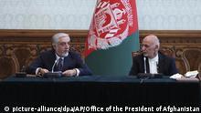 Politische Rivalen inAfghanistan vereinbaren Machtteilung