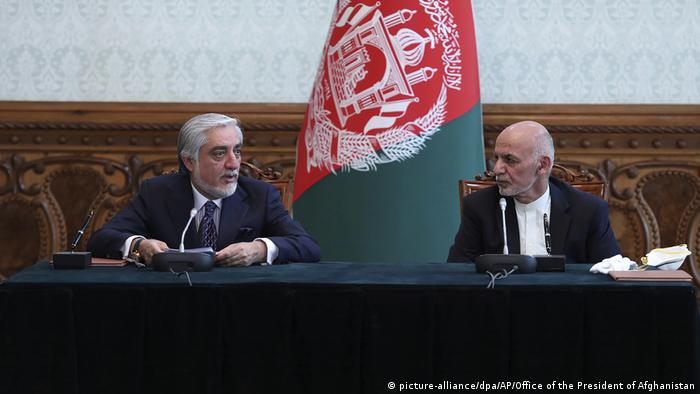 Politische Rivalen in Afghanistan vereinbaren Machtteilung (picture-alliance/dpa/AP/Office of the President of Afghanistan)