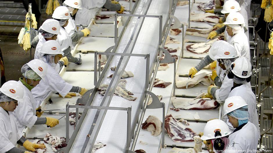 Άθλιες συνθήκες στη γερμανική βιομηχανία κρέατος