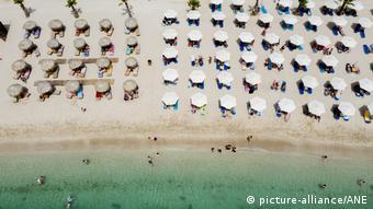 Пляж в греческой Глифаде