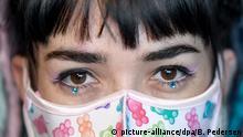 Coronavirus   Mundschutz durch Maske