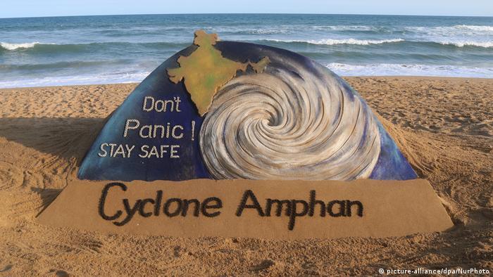 Indien Zyklon Amphan Küste Bangladesch
