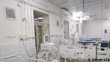 Bangladesh Bangladesh Intensivstation (ICU) mit Beatmungsgerät im Chittagong General Hospital