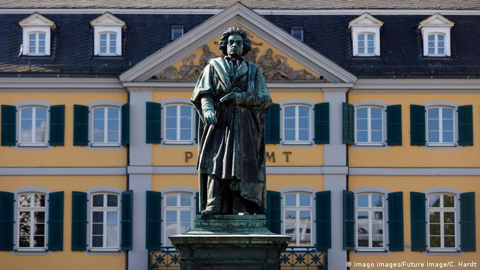 Statuja e Beethovenit në Bonn