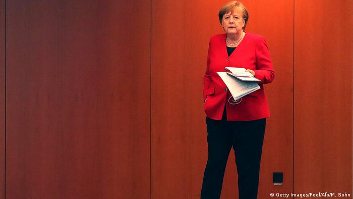 Angela Merkel (Getty Images/Pool/Afp/M. Sohn)