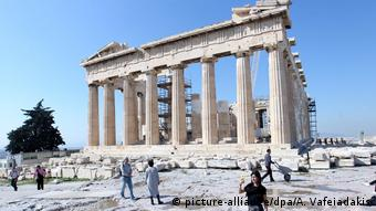 Griechenland Akropolis in Athen (picture-alliance/dpa/A. Vafeiadakis)
