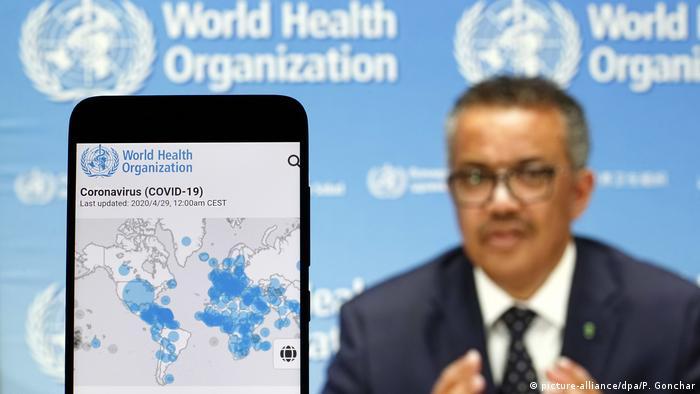 Tedros Adhanom Ghebreyesus, diretor da Organização Mundial da Saúde (OMS)