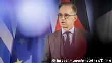 Bundesaussenminister Heiko Maas, SPD, gibteine Pressekonferenz