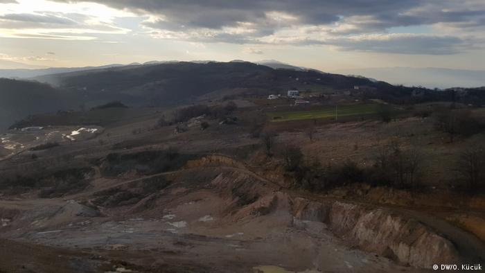 Türkei Proteste gegen Bau Bergwerk