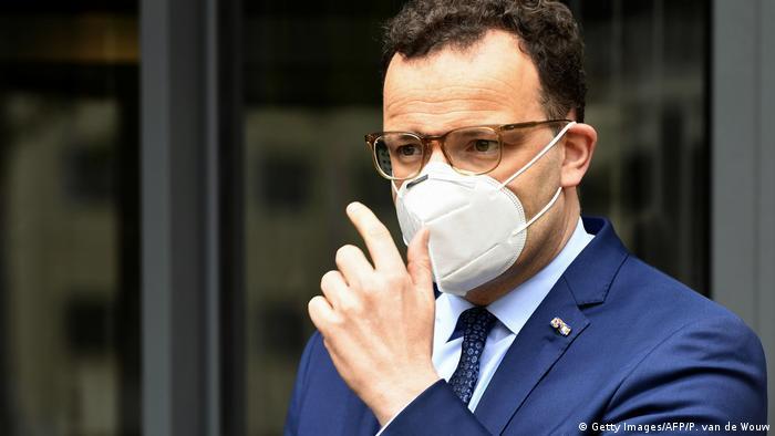 Gesundheitsminister Jens Spahn (Getty Images/AFP/P. van de Wouw)