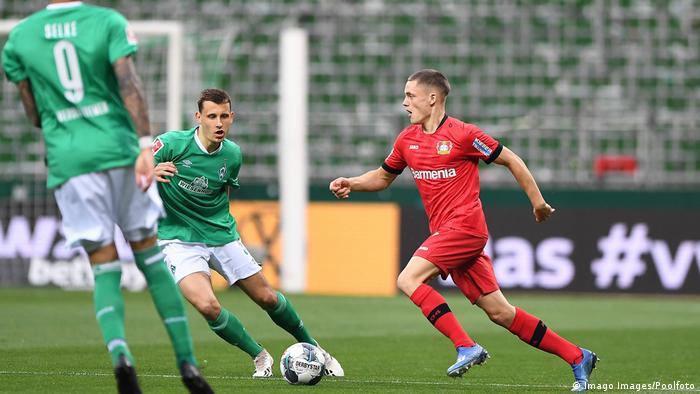 Florian Wirtz made his Bayer Leverkusen debut (Imago Images/Poolfoto)
