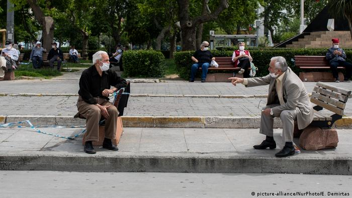 Türkei Corona-Pandemie | Istanbul (picture-alliance/NurPhoto/E. Demirtas)