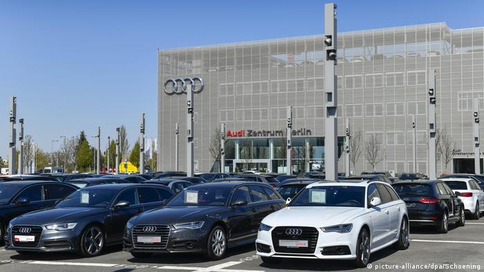 Audi dealership in Berlin