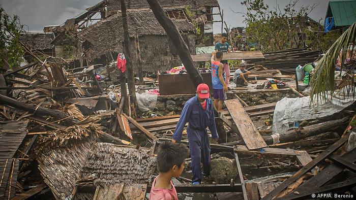 Philippinen Typhoon Vongfong (AFP/A. Beronio)