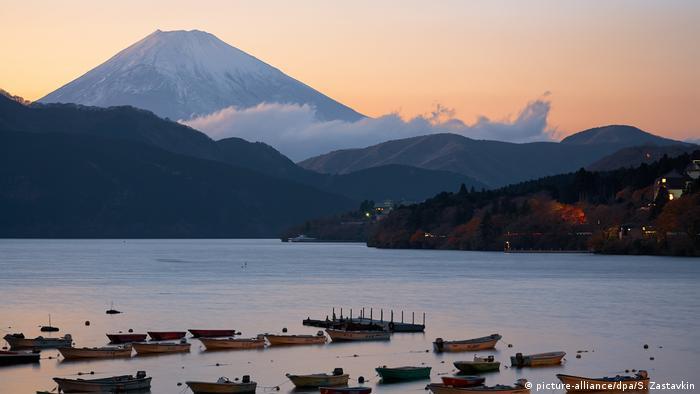 Mount Fuji Japan (picture-alliance/dpa/S. Zastavkin)