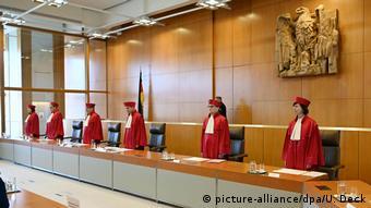 Ανώτατο Συνταγματικό Δικαστήριο, Καρλσρούη