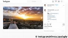 Screenshot Instagram Alireza Japalaghy Iran