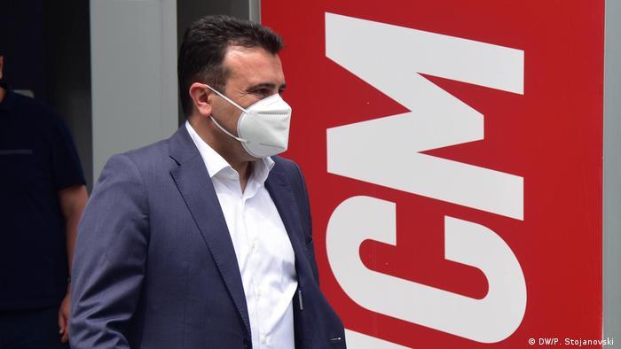 Zoran Zaev, Parteivorsitzdender der SDSM Nord-Mazedonien