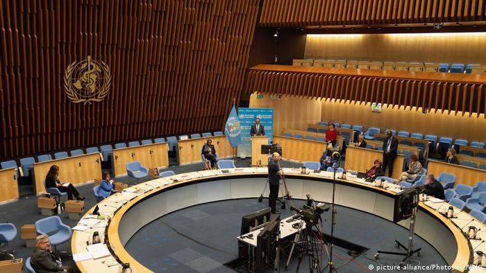 Assembleia Mundial da Saúde, em Genebra