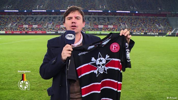 argentinischer Sportjournalist Ezequiel Daray