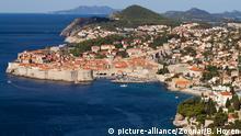 Blick auf Dubrovnik/Kroatien - View at Dubrovnik/Croatia | Verwendung weltweit